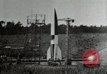 Image of German A-4 missile Peenemunde Germany, 1944, second 11 stock footage video 65675077666