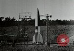 Image of German A-4 missile Peenemunde Germany, 1944, second 3 stock footage video 65675077667
