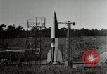 Image of German A-4 missile Peenemunde Germany, 1944, second 5 stock footage video 65675077667