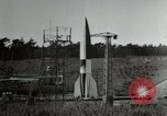 Image of German A-4 missile Peenemunde Germany, 1944, second 11 stock footage video 65675077667