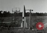 Image of German A-4 missile Peenemunde Germany, 1944, second 12 stock footage video 65675077667