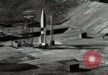 Image of German A-4 missile Peenemunde Germany, 1944, second 2 stock footage video 65675077668