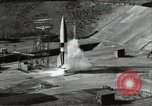 Image of German A-4 missile Peenemunde Germany, 1944, second 4 stock footage video 65675077668