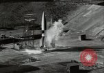 Image of German A-4 missile Peenemunde Germany, 1944, second 5 stock footage video 65675077668
