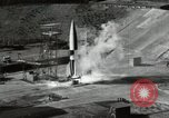 Image of German A-4 missile Peenemunde Germany, 1944, second 6 stock footage video 65675077668