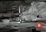 Image of German A-4 missile Peenemunde Germany, 1944, second 7 stock footage video 65675077668