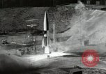 Image of German A-4 missile Peenemunde Germany, 1944, second 8 stock footage video 65675077668