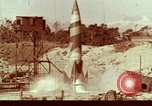 Image of German V-2 rocket Peenemunde Germany, 1944, second 1 stock footage video 65675077669