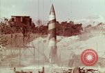 Image of German V-2 rocket Peenemunde Germany, 1944, second 4 stock footage video 65675077669