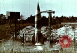 Image of German V-2 rocket Peenemunde Germany, 1944, second 2 stock footage video 65675077681
