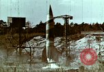 Image of German V-2 rocket Peenemunde Germany, 1944, second 4 stock footage video 65675077681