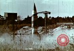 Image of German V-2 rocket Peenemunde Germany, 1944, second 5 stock footage video 65675077681