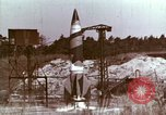 Image of German V-2 rocket Peenemunde Germany, 1944, second 4 stock footage video 65675077682