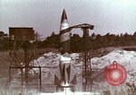 Image of German V-2 rocket Peenemunde Germany, 1944, second 6 stock footage video 65675077682