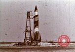 Image of German V-2 rocket Peenemunde Germany, 1944, second 1 stock footage video 65675077687