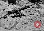 Image of machine gun Solomon Islands, 1945, second 2 stock footage video 65675077698