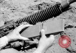 Image of machine gun Solomon Islands, 1945, second 3 stock footage video 65675077698