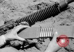 Image of machine gun Solomon Islands, 1945, second 4 stock footage video 65675077698