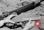 Image of machine gun Solomon Islands, 1945, second 6 stock footage video 65675077698