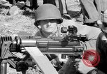 Image of machine gun Solomon Islands, 1945, second 11 stock footage video 65675077698