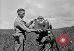 Image of flame thrower Solomon Islands, 1945, second 12 stock footage video 65675077699