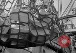 Image of food crates Solomon Islands, 1945, second 8 stock footage video 65675077702