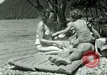 Image of Eva Braun's friends Berchtesgaden Germany, 1940, second 10 stock footage video 65675077722