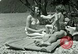 Image of Eva Braun's friends Berchtesgaden Germany, 1940, second 12 stock footage video 65675077722