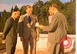 Image of  Hitler, Heydrich, Himmler, and Wolff , at Berghof Berchtesgaden Germany, 1940, second 6 stock footage video 65675077745