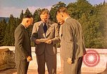 Image of  Hitler, Heydrich, Himmler, and Wolff , at Berghof Berchtesgaden Germany, 1940, second 9 stock footage video 65675077745