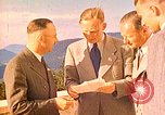 Image of  Hitler, Heydrich, Himmler, and Wolff , at Berghof Berchtesgaden Germany, 1940, second 11 stock footage video 65675077745