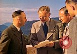 Image of  Hitler, Heydrich, Himmler, and Wolff , at Berghof Berchtesgaden Germany, 1940, second 12 stock footage video 65675077745