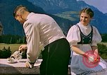 Image of Berghof terrace Berchtesgaden Germany, 1940, second 6 stock footage video 65675077759