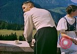 Image of Berghof terrace Berchtesgaden Germany, 1940, second 8 stock footage video 65675077759