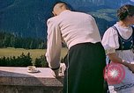Image of Berghof terrace Berchtesgaden Germany, 1940, second 9 stock footage video 65675077759