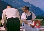 Image of Berghof terrace Berchtesgaden Germany, 1940, second 12 stock footage video 65675077759