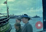 Image of Eva Braun's family viewing the Manhattan and other ships Hamburg Germany, 1940, second 6 stock footage video 65675077788