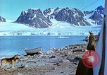 Image of snow covered mountains Greenland, 1938, second 10 stock footage video 65675077798