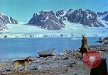 Image of snow covered mountains Greenland, 1938, second 12 stock footage video 65675077798