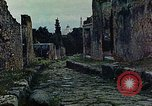 Image of Roman ruins Pompeii Italy, 1938, second 1 stock footage video 65675077849