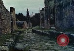 Image of Roman ruins Pompeii Italy, 1938, second 2 stock footage video 65675077849
