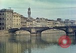 Image of Arno River Florence Italy, 1938, second 6 stock footage video 65675077850