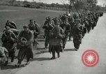 Image of German soldiers on American side of Elbe River at end of World War 2 Tangermunde Germany, 1945, second 6 stock footage video 65675077888