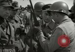 Image of German soldiers surrender at Tangermunde Tangermunde Germany, 1945, second 2 stock footage video 65675077889