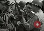 Image of German soldiers surrender at Tangermunde Tangermunde Germany, 1945, second 3 stock footage video 65675077889