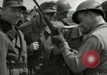 Image of German soldiers surrender at Tangermunde Tangermunde Germany, 1945, second 5 stock footage video 65675077889