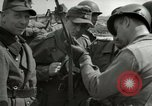 Image of German soldiers surrender at Tangermunde Tangermunde Germany, 1945, second 6 stock footage video 65675077889