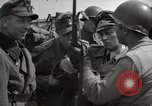 Image of German soldiers surrender at Tangermunde Tangermunde Germany, 1945, second 7 stock footage video 65675077889