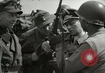 Image of German soldiers surrender at Tangermunde Tangermunde Germany, 1945, second 8 stock footage video 65675077889