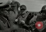 Image of German soldiers surrender at Tangermunde Tangermunde Germany, 1945, second 9 stock footage video 65675077889
